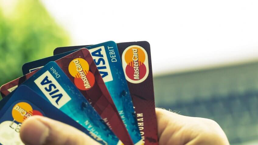 spread of credit cards